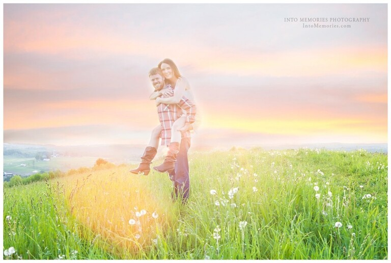 CNY Wedding Photographers Sunset