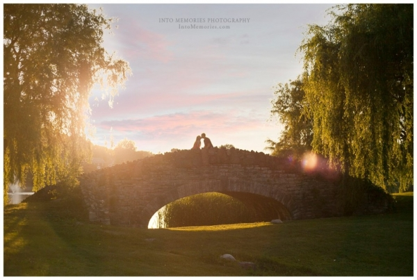 Engagement Portraits @ Onondaga Park in Syracuse NY by Into Memories Photography.