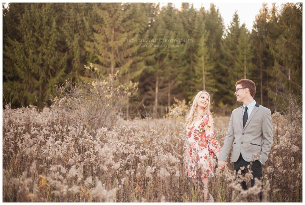 A Green Lakes State Park Classic Engagement Portrait Session – Le ...