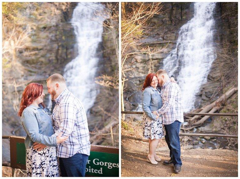 Pratts Falls NY Engagement Portraits Into Memories Photography Syracuse CNY Wedding Photographers
