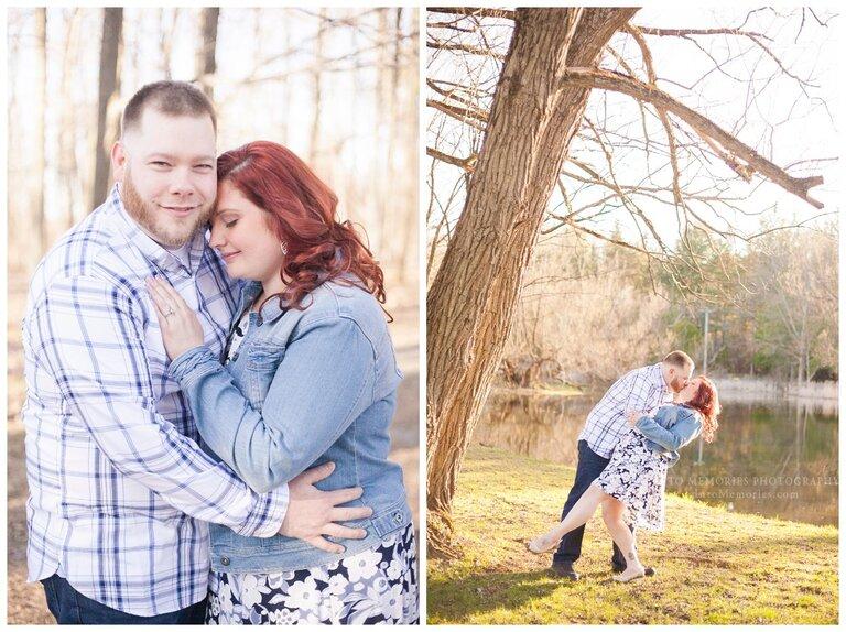 Pratts Falls Engagement Portraits Into Memories Photography Manlius NY Wedding Photographers