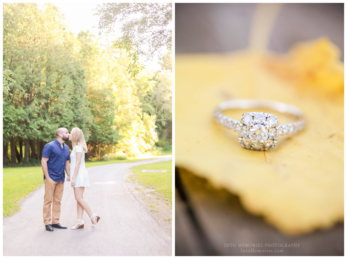 Reegan & Dave – Green Lakes State Park Engagement Portraits » CNY ...