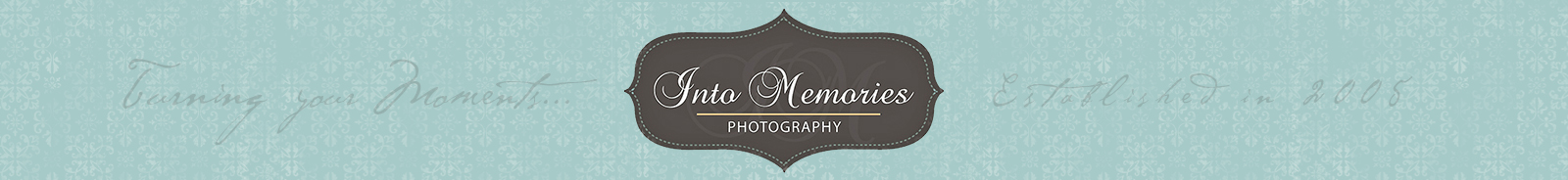 CNY Wedding & Portrait Photographer | Into Memories Photography | Based in Liverpool, NY, Serving CNY, Adirondacks and areas of NNY logo